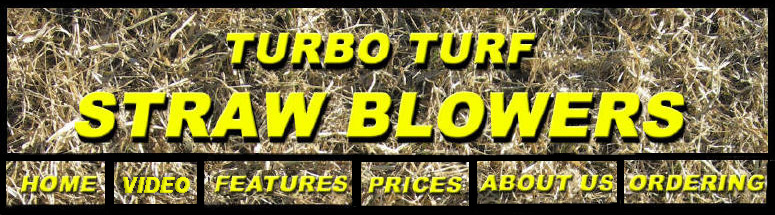 Turbo Turf Straw Blower Banner