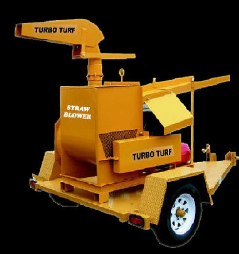 Turbo Turf Straw Blower